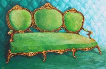 grünes Sofa von Renate Berghaus