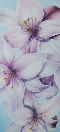 Lilien 3 by Renate Berghaus
