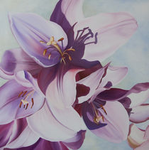 Lilien 4 by Renate Berghaus