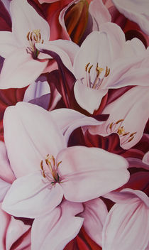 Lilien 5 by Renate Berghaus