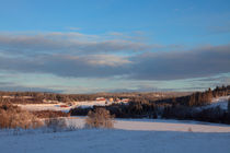 Snowy Swedish winter landscape von Intensivelight Panorama-Edition