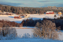 Swedish winter landscape von Intensivelight Panorama-Edition