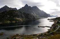 North-Norwegian fjord von Intensivelight Panorama-Edition