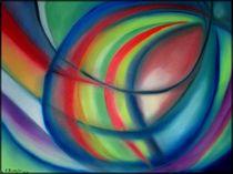 Abstraktesfarbenspiel by Eva Borowski
