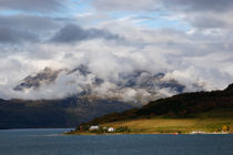 Clouds rising over a fjord by Intensivelight Panorama-Edition