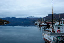 Ships in a Norwegian fjord by Intensivelight Panorama-Edition