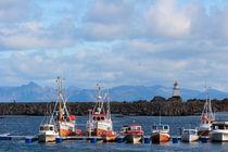 Norwegian fishing port von Intensivelight Panorama-Edition