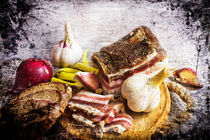 Bacon and bread. von Hobort Hob