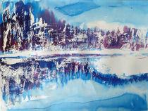 Winterwald am See von Irina Usova