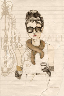 My breakfast at Tiffany's von Cecilia Sanchez