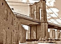 BROOKLYN BRIDGE FROM BROOKLYN BRIDGE PARK von Maks Erlikh