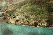 St. Thomas Ruins by Judy Hall-Folde