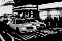 Block USA 2008 – Set 012 – Bild D – Times Square – Yellow Cab by Peter Heiko Wassenberg
