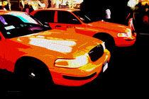 Block USA 2008 – Set 014 – Bild A – Times Square – Yellow Cab by Peter Heiko Wassenberg