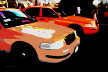 Block USA 2008 – Set 014 – Bild B – Times Square – Yellow Cab by Peter Heiko Wassenberg