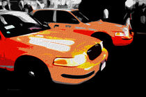 Block USA 2008 – Set 014 – Bild C – Times Square – Yellow Cab by Peter Heiko Wassenberg