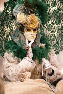 Venetian  Mask by Vesna Šajn