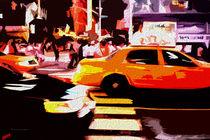 Block USA 2008 – Set 022 – Bild A – Times Square – Yellow Cab by Peter Heiko Wassenberg