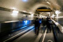 Old Elbe Tunnel by fraenks