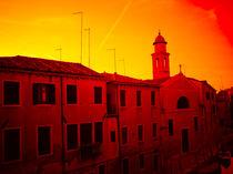 Venice at dusk by Tyrone Castelanelli