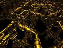 Röhren Kaleidoskop 2 von Frank Siegling