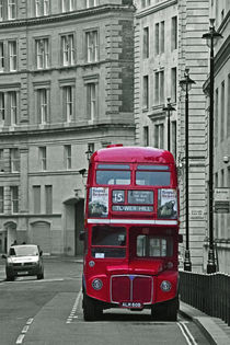 Red London Bus von David Pringle