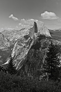 Half Dome And Yosemite Valley In Yosemite National Park by RicardMN Photography
