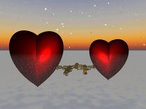 Coupled Hearts, Gekoppelte herzen by Frank Siegling