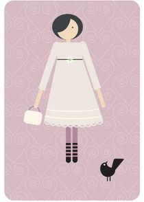 the girl with the birds 6 von thomasdesign