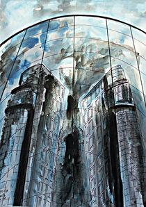 Berlin, Spreebogen Centrum von Irina Usova