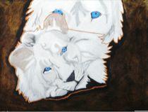 White Lions by Melissa Nowacki