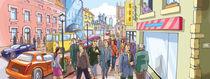 Street Crowd by Oleksiy Tsuper