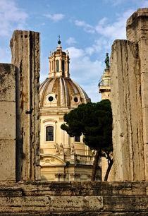 Kirche - Santa Maria di Loreto - Rom - Italien von captainsilva