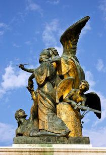 Der Gedanke - Statue - Altar des Vaterlandes - Rom von captainsilva