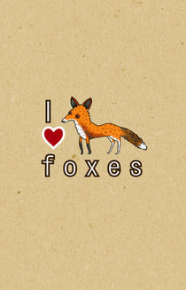 I ? Foxes by Sophie Corrigan