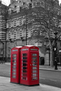 Red Phone Boxes von David Pringle