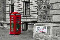 Red Phone Box von David Pringle