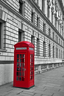 Red Phone Box by David Pringle