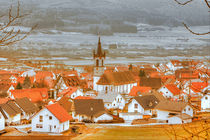 Ein kleines beschauliches Dorf  von Gina Koch