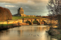 Castle Howard - New River Bridge and Mausoleum by Martin Williams