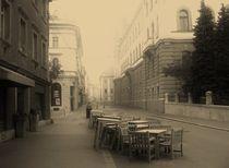 Chairs in Ljubljana by Aida Mahmutovic