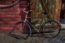Oldtimer Fahrrad von blackbiker