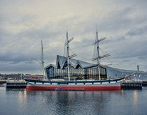 Tall Ship on the Clyde von braveheartimages