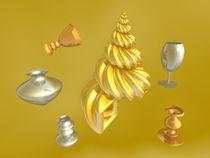 Vasen mit Schnecke by Frank Siegling