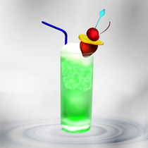 Cocktail Green Fruit by Gina Koch
