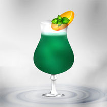 Cocktail Mint Green von Gina Koch