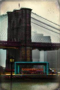 The Carousel at Brooklyn Bridge Park von Chris Lord