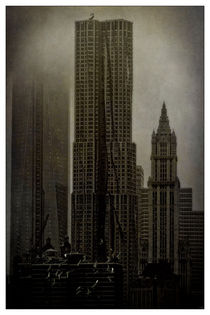 Concrete, Steel, Glass and Fog von Chris Lord