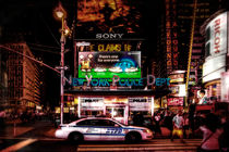 NYPD Times Square von Chris Lord