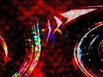 feuerwerk am Sternenhimmel von Peter Norden